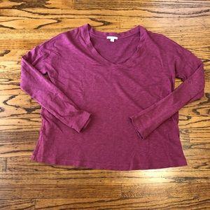 James Perse Tops - James Peres Standard top shirt v-neck size 4